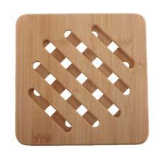 Bambus Untersetzer Topfuntersetzer aus Holz für Töpfe, Pfannen, Teller