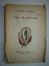 Rafael Alberti. Primera edicion. Dedicado