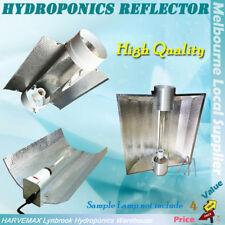 Hydroponic Grow Light Reflector Aluminium Shade Large Hood Cool Tube HPS MH Lamp