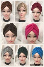 NEW TURBAN STYLE Head Wrap Head cover Hat Bandana Scarf Hair Loss Cap Chemo