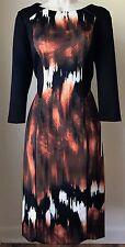 Antonio Melani Hubert Printed Scuba Sheath Dress NWT Size 4