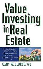 Value Investing in Real Estate (Hardback or Cased Book)