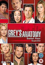 Grey's Anatomy - Series 4 - Complete (DVD, 2009, 4-Disc Set, Box Set)