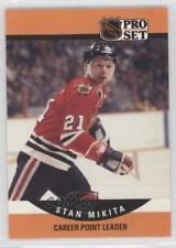 1990-91 Pro Set #655 Stan Mikita Chicago Blackhawks Hockey Card