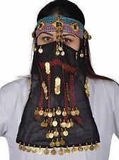 Beduinenmaske Beduinenschmuck Fasching Schmuck Karnevalsschmuck Orient