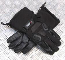 Motorrad Winter Handschuhe Textil / Leder-Mix  Winterhandschuhe