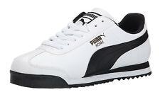 Puma Roma Basique Blanc, Noir pour Hommes Baskets Chaussures de Tennis Article