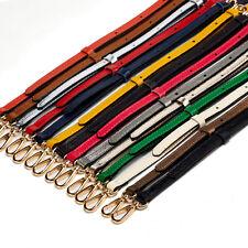 Real Leather Purse Strap Adjustable Crossbody Shoulder Replacement Handbag Bag