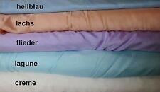 Dekostoff (€9,50/m²) 0,5 m Satin versch. Farben 2 m breit Dekosatin unifarben