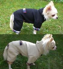 Hunde Sweat Jogginganzug Rl: 27 30 33 36 40 45 Baumwolle schwarz beige klkx