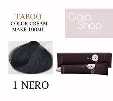 MAKE TABOO COLOR CREAM TINTURA CAPELLI TUTTI I COLORI TUBO DA 100ML