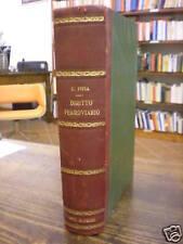 (DIRITTO - FERROVIE) DIRITTO FERROVIARIO 1912