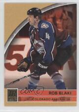 2001-02 Topps Reserve #91 Rob Blake Colorado Avalanche Hockey Card