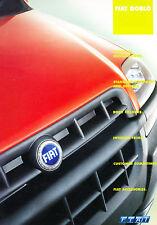 2002 Fiat Doblo Van Original Sales Brochure UK