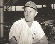 RARE Print KEN HUBBS 1963 Chicago Cubs MINT Beautiful BW Portrait Var Sizes