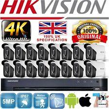 HIKVISION 8MP DVR CCTV  ULTRA HD SYSTEM 4K NIGHT VISION BULLET CAMERA FULL KIT