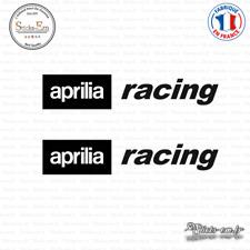 2 Stickers Aprilia Racing Decal Aufkleber Pegatinas APR02 Couleurs au choix