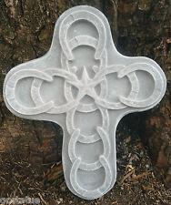 Plastic southwest, horse shoe cross mold plaster concrete casting mould