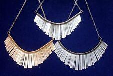 Fancy Tassel Choker Dangle Collar Statement Necklace Punk Egyptian Dancer Bib
