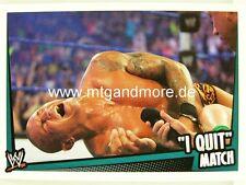 "Slam attax rumble - ""I quit"" match match type"
