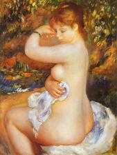 6 x 8 Art Renoir After the Bath Ceramic Mural Backsplash Bath Tile #1667