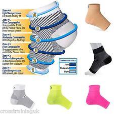 FS6 / OS1st Paar Fuß Kompression Stützhülsen Ferse Schmerzen und Farben