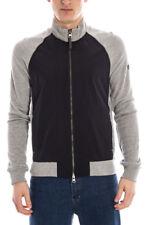 Felpa Armani Jeans AJ Sweatshirt Hoodie -25% Uomo Nero A6M79ZT-DC