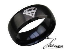 ANILLO SUPERMAN - MAN OF STEEL RING - DC - ACERO - NUEVO - ESPAÑA