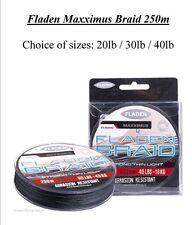 Maxximus Braid 250m 20lb-30lb-40lb (SEA GIOCO grossolano Carpa Intrecciato Lenza da pesca)