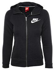 Nike Sportswear Modern Hoodie Black (Little Kid/Big Kid) Girls SZ [806212-010]