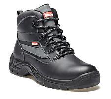 NEW MAKITA MW329 SAFETY STEEL TOE CAP & MIDSOLE WORK BOOTS BLACK SIZE UK 6-12