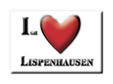 DEUTSCHLAND SOUVENIR - HESSEN MAGNET LISPENHAUSEN (HERSFELD ROTENBURG)