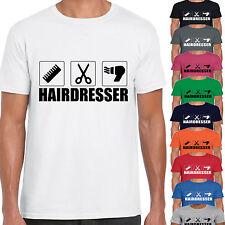 Grabmybits-PARRUCCHIERE Design Adulto Unisex Maglietta-REGALO Stylist Hair Cut TEE