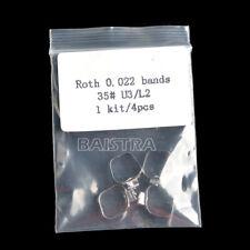 REGNO Unito Dentali Ortodontiche utilizzare Roth Band & buccale TUBI 022 FASCE U3/L2 35#-39+ #