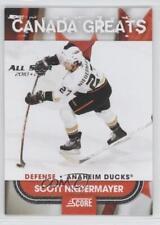 2010-11 Score Canada Greats All-Star 2010-11 #18 Scott Niedermayer Hockey Card