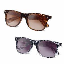 Leopard Print Sunglasses - Unisex Summer Shades UV400 Classic Vintage Style New