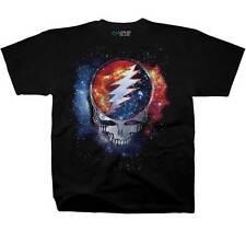 Grateful Dead Cosmic Stealie Adult T Shirt Great Music Liquid Blue