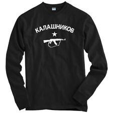 Kalashnikov AK-47 Long Sleeve T-shirt LS - Machine Guns Military - Men / Youth