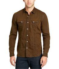 William Rast Mens Dual Pocket Button Up Shirt
