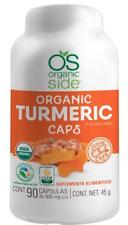 Nutritional supplement: Organic Side Turmeric Curcuma 90 caps