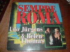 "UDO JURGENS-BELEN THOMAS ""SEMPRE ROMA ""GERMANY'89"