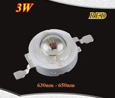3 Watt Led Chip 700mA 630nm 640nm 650nm Rot 3W Grow Epistar High-Power 2.4V 2.6V