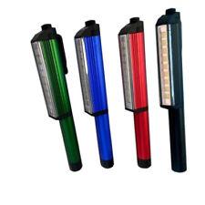 Linterna LEDs tipo lápiz con imán y clip