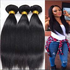 Peruvian Straight Human Hair 3 Bundles/300g weave 100% Remy Hair extension weave