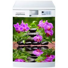 Aufkleber geschirrspülmaschine oder magnet Orchideen 5531