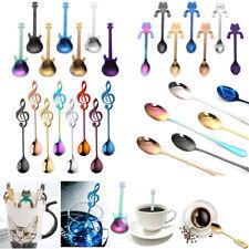 1PC Stainless Steel Rainbow Coffee Tea Spoon Flatware Silverware Drinking Tools