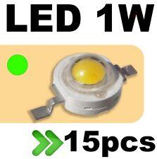 534/15# LED 1W vert --- 15pcs