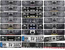 Kennzeichenhalter Kennzeichenverstärker Nummernschildhalter SPRÜCHE