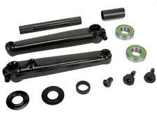 Sunday BMX Crank Set - Saker - RHD/LHD - 3 Piece - Black - Various Sizes