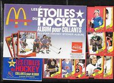 1982-83 MCDONALD'S NHL HOCKEY STICKER 1-36 + WRAPPER & ALBUM SEE LIST